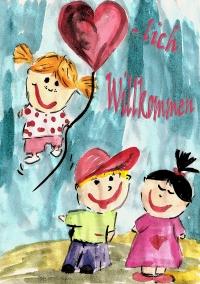 Herzlich Willkommen Kindergartenbeginn